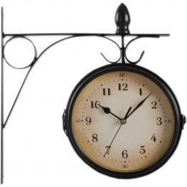 Reloj Estación Pequeño Negro