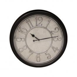 Reloj Redondo Grande Negro