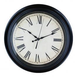 Reloj Redondo Negro