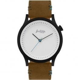 Reloj Scope Black And White - Pulsera Marrón