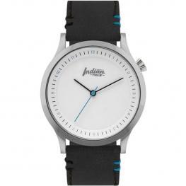 Reloj Scope Silver And White - Pulsera Negra