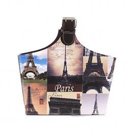 Revistero Con Asa Diseño Torre Eiffel