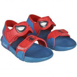 Sandalias Playa Spiderman - Rojo - Talla 24/25