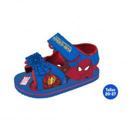 Sandalias Verano Infantiles Spiderman Azul