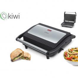Sandwichera 850W Grill Plate Acabado Inox