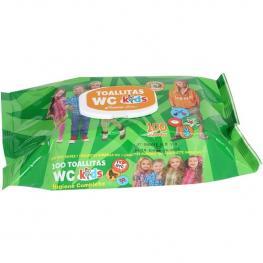 Set 100 Toallitas Wc Kids C/tapa