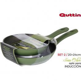 Set 2 Sartenes 2024 Olive Quttin