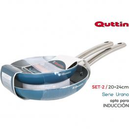 Set 2 Sartenes 2024 Urano Quttin