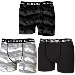 Set 3 Boxer All Blacks - Algodón - 95% Algodón 25% Elastano