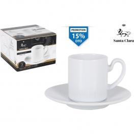 Set 3 Tazas Cafe C/plato