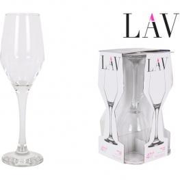 Set 4 Copas Champagne 230Cc Ella