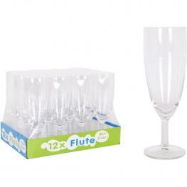 Set 12 Copas Flauta 150Cc Ballon