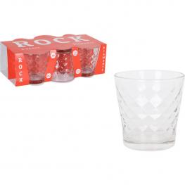 Set 6 Vasos 290Cc Rock Diamants