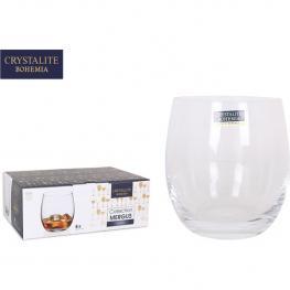 Set 6 Vasos Cristal Bohemia 410Cc Mergus