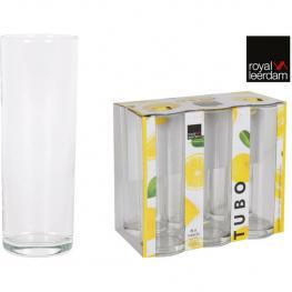 Set 6 Vasos Tubo 32Cl Lemon