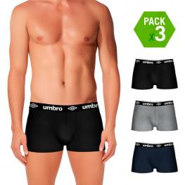 Set de 3 Boxers Umbro Multicolor