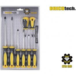 Set 8 Destornilladores Bricotech