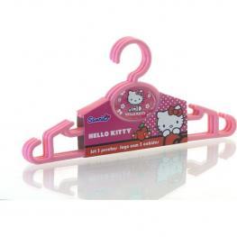 Juego 3 Perchas Hello Kitty