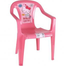 Silla Plástico 37X39X52Cm Hello Kitty