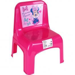 Silla Plástico, Disney -Minnie- 30X32X42 Cm