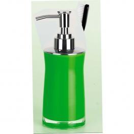 Spirella Sydney Dispensador de Jabón Líquido 18,5 X 7,0 X 7,0 Cm Acrílico Verde