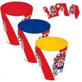Set 3 Vasos Atletico de Madrid - 4908072