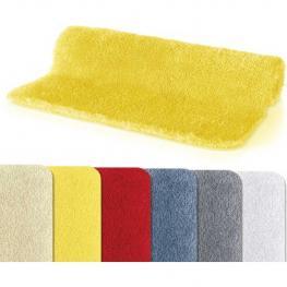 Spirella Fino Alfombrilla de Baño 100% Poliéster y Microfibra Amarillo