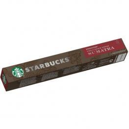 Starbucks Single Origin Sumatra 10 Cápsulas Nespresso