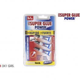 Super Glue Power 3X1Grs