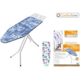 Tabla Planchar Blanca Jeans 38X120Cm Confortime