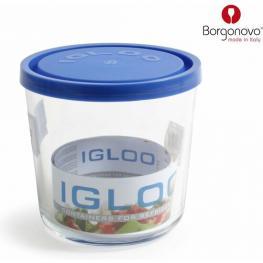 Tarro Igloo Azul 12X11.5Cm Con Tapa 800Cc