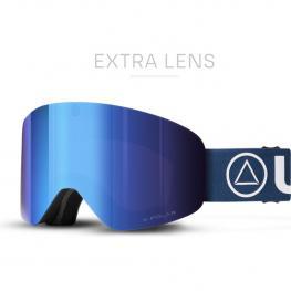 Gafas de Esquí Freeride V2 Negro / Azul
