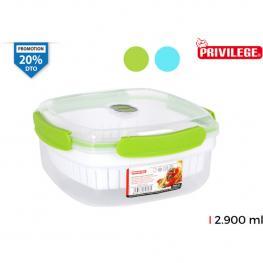 Hermetico Vapor Microondas 2900Ml Privilege