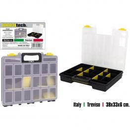 Caja Herramientas Compartimentos Treviso 38X33X6Cm