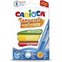 Témperas Carioca Temperello Estuche X6