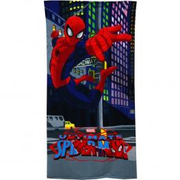 Toalla Playa 70X140 Spiderman Microfibra