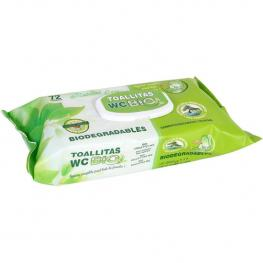 Toallita Wc Bio 72 Unds C/tapa Natural Care