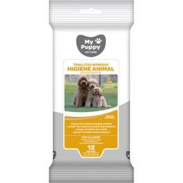 Toallitas Húmedas Higiene Animal Desodorante 12 Uds