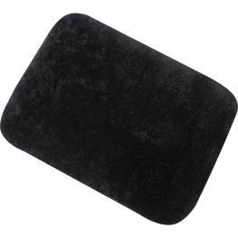 Alfombrilla de Microfibra Negro - Msv