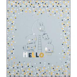 Manta Infantil - Color Ceniza
