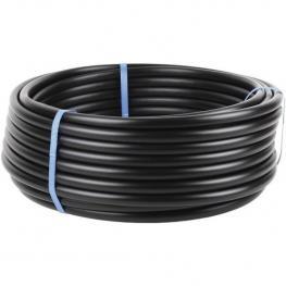 Tubos de Riego Por Goteo (Sin Gotero) 50M X 16Mm, Color Negro