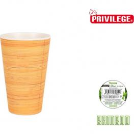 Vaso Bambu 8X12.8Cm Natural Privilege