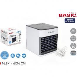 Ventilador Humidificador Enfriador Basic Home