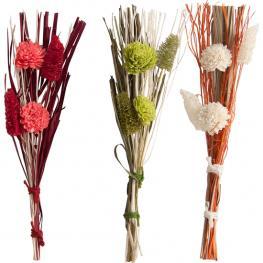 Ramo Flor Seca - 4 Colores Surtidos