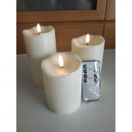 Flameless Candles - Velas Decorativas Con Mando