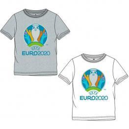 Camiseta Corta Single Jersey Eurocup - Blanco