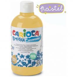 Pintura Tempera Carioca Color 500 Ml - Amarillo
