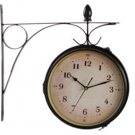 Reloj Estación Grande Negro