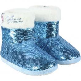 Zapatillas de Estar Por Casa Frozen Azul
