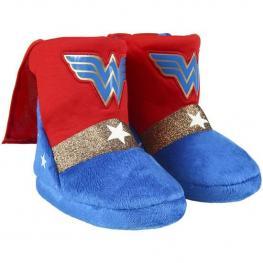 Zapatillas de Casa Bota Wonder Woman Rojas